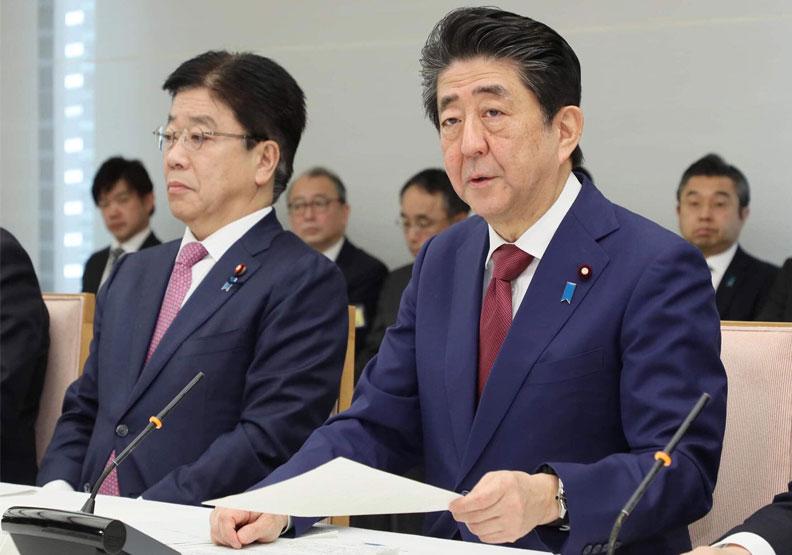日本首相安倍晉三。取自@AbeShinzo twitter