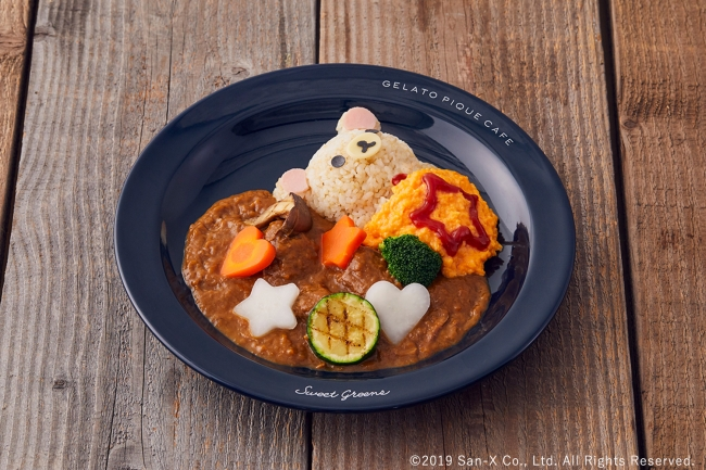 日本拉拉熊×gelato pique cafe