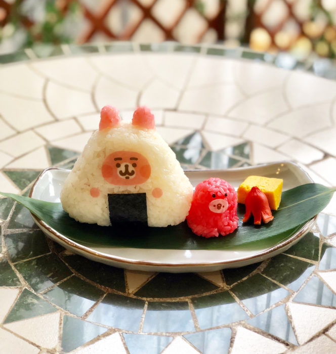卡娜赫拉「兔兔&P助」×小鳥咖啡