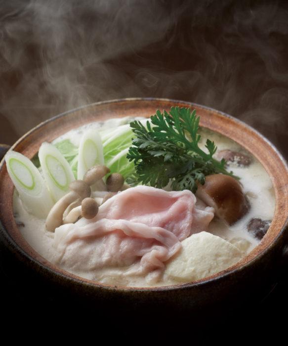 茅乃舍高湯用豆乳鍋高湯製作的豆乳鍋