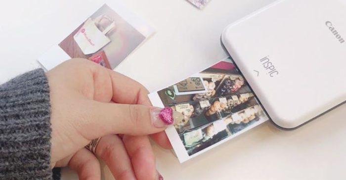 Canon iNSPiC 隨身印貼紙機-fb