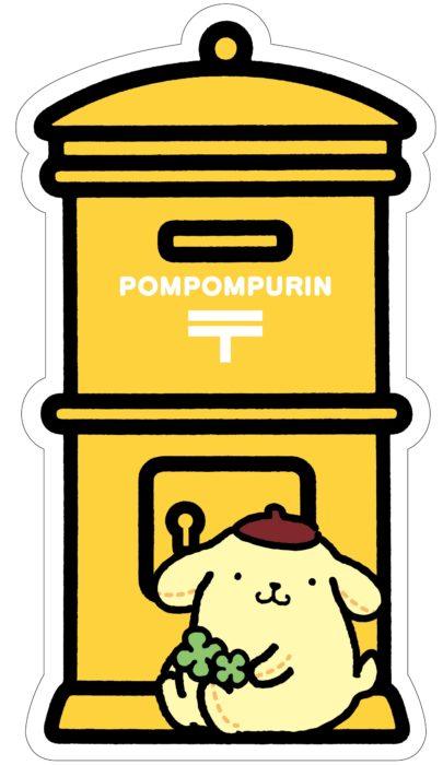 日本郵局布丁狗郵筒明信片