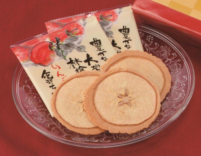 信州長野乙女蘋果煎餅