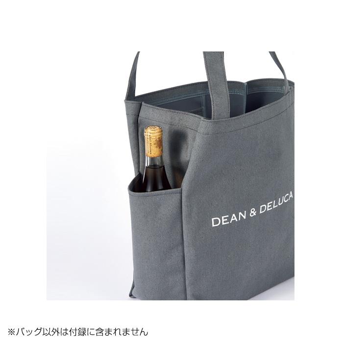 DEAN & DELUCA特大購物包側面
