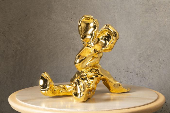 24k金雕刻擺飾