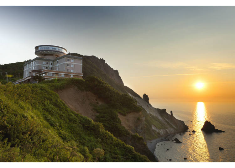 飯店渡假勝地被大海與大自然包圍,整個感覺好療癒。