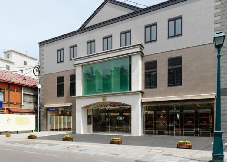 LeTAO PATHOS是LeTAO各店中規模最大的店舖