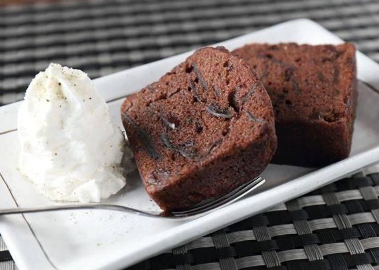 「Rishiri巧克昆布朗尼(其實是巧克力布朗尼,剛好巧克力布朗尼的日文發音中有昆布的發音)」(750日圓)