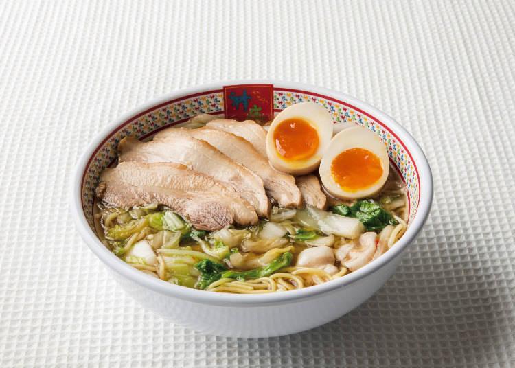 人氣第一的「半熟蛋拉麵」810日圓(含稅)