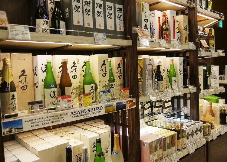 帶回台灣的伴手禮挑什麼?參考成田機場免稅店推薦商品就對啦(日本清酒、燒酒篇)