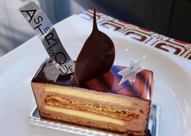 Mirage WPTC 香橙巧克力多層次蛋糕 價格:590日圓(含稅)