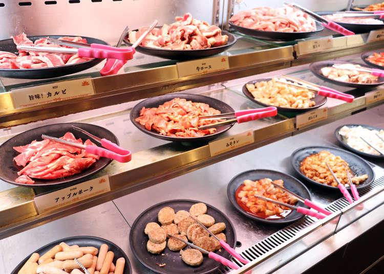 10種肉品、麵食、甜點都無限吃!中午只要1600日圓的池袋自助吧燒肉「喰喰」