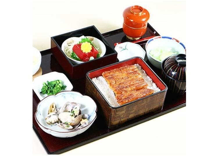 「如月鰻套餐」3,780日圓(含税)※2018年2月28日止