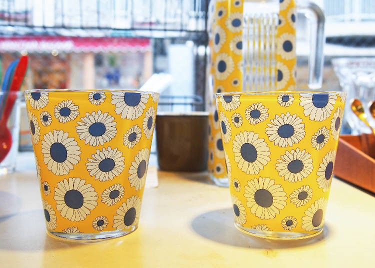 瑞典設計日本製玻璃杯,800日圓