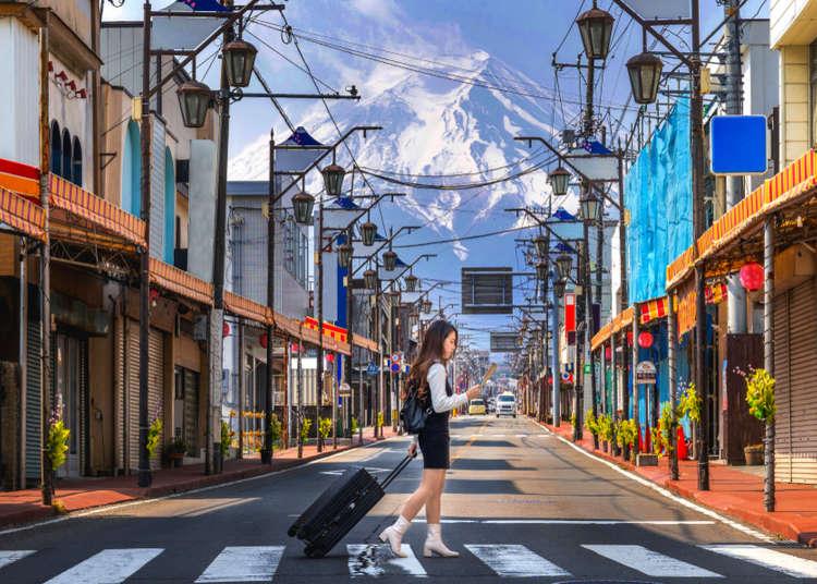 【自由行必看】新宿出發!富士山河口湖一日遊的最佳示範行程,保證處處皆絕景!