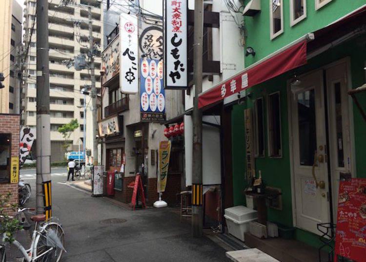 ▲餐廳附近就是JR東西線的新福島站(地下站)