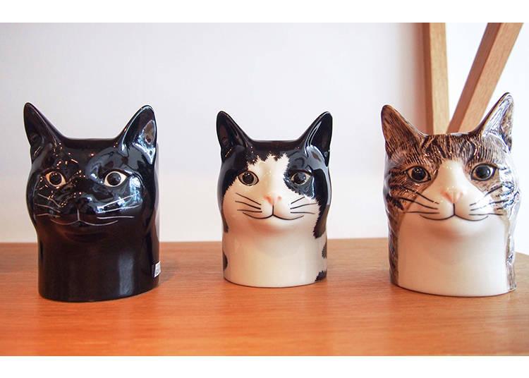 貓奴不可錯過!英國品牌陶瓷貓造型筆筒,2916日圓