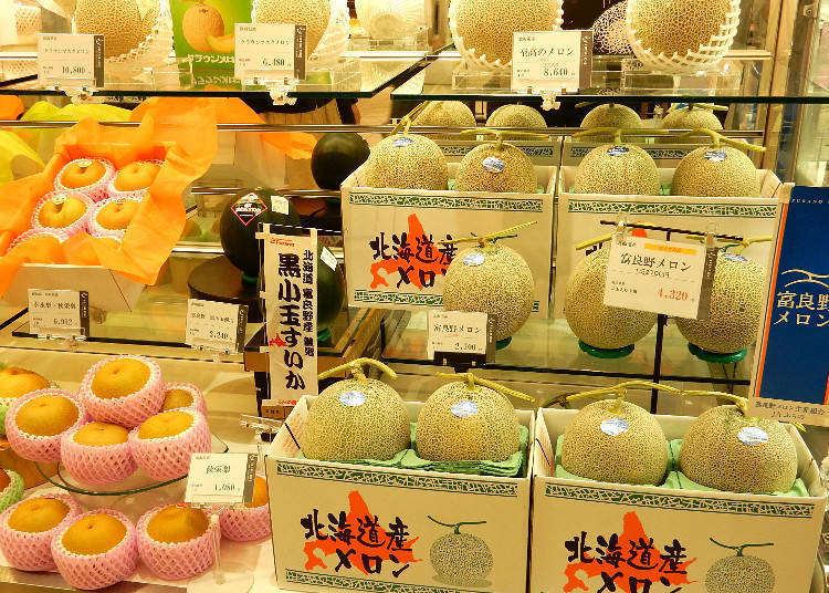 連北海道名產「哈密瓜」都能海外配送?採購各種伴手禮的好去處「大丸札幌店」百貨地下街!
