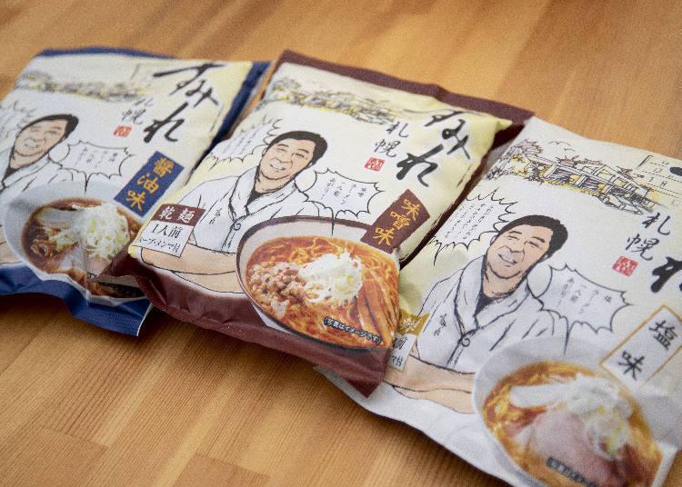 味噌、鹽味、醬油風味每份400日圓。