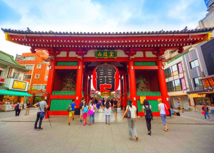 東京旅遊必去淺草雷門!拜訪淺草寺前一定要知道的7件事
