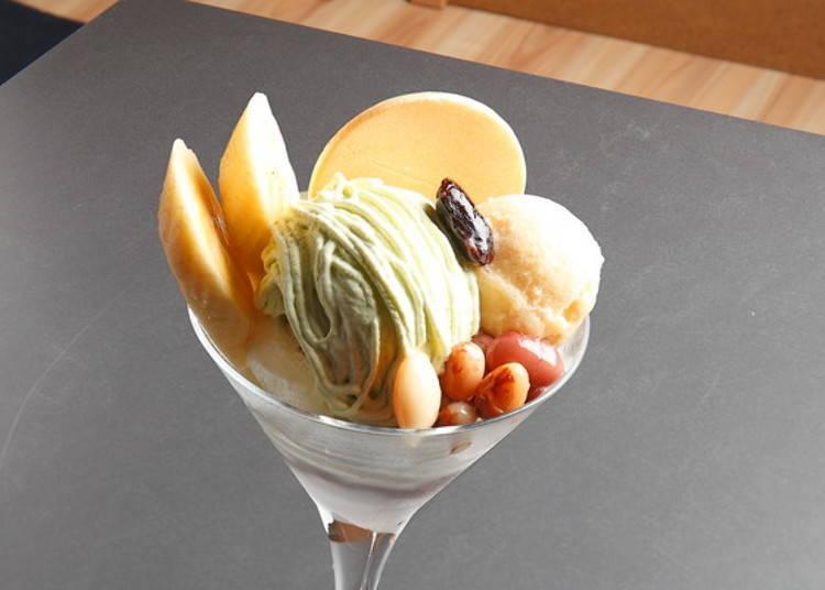▲「豆與梅、焙茶」(1,220日圓)