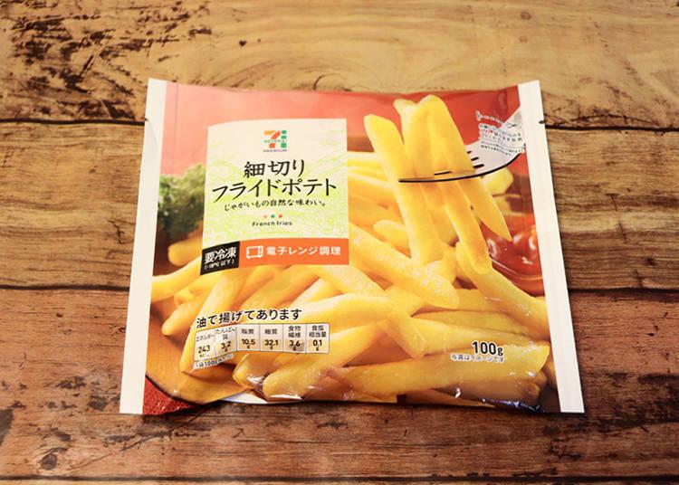 「細切炸薯條」138日圓