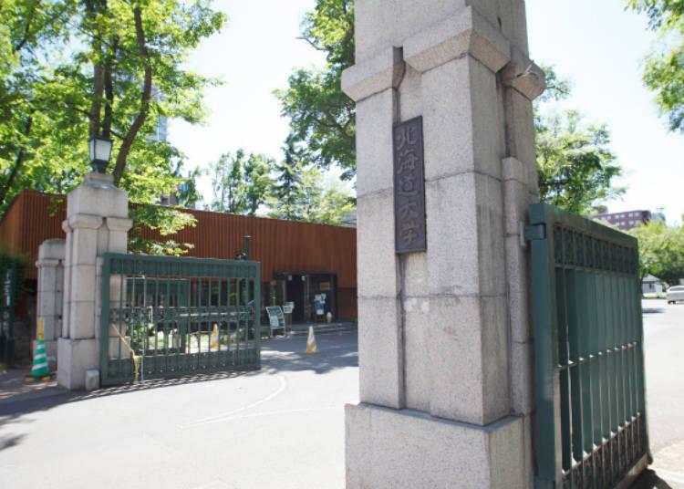 ▲北海道大學正門