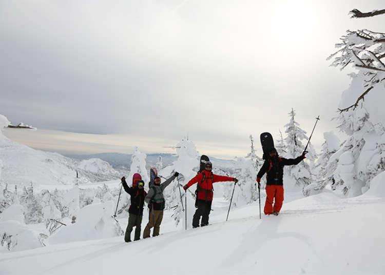 賞樹冰、滑雪、漫步雪原樂趣兼具的山形藏王 SUMIKAWA Snow Park雪上車觀光導覽行程