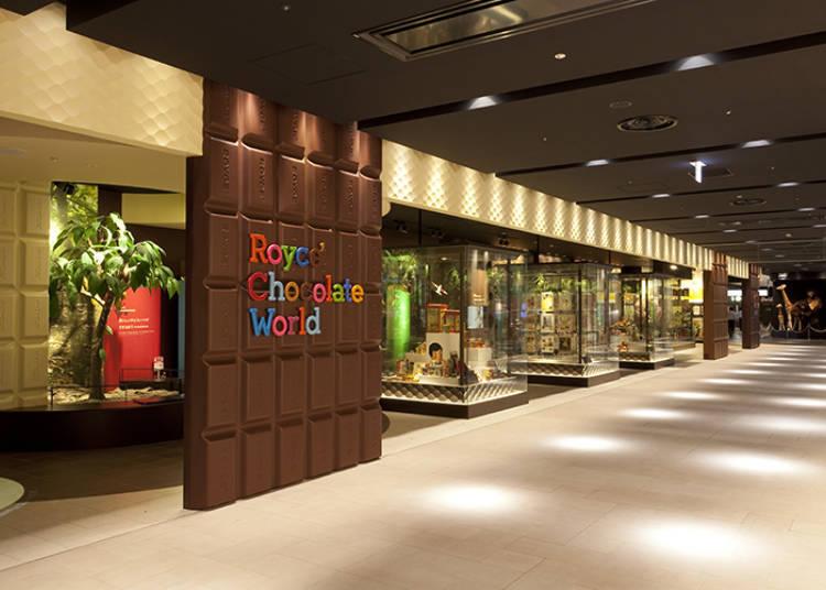 展示著巧克力的歷史及世界各國蒐集品的免費博物館