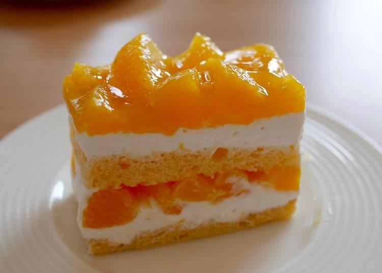 柑橘鮮奶油蛋糕(オレンジのショートケーキ) 價格:670日圓(含稅)