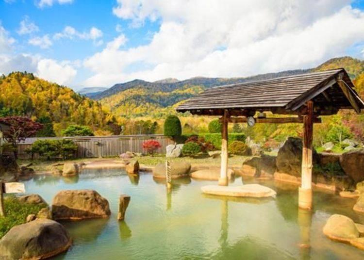 往年的10月初到中旬左右為賞楓的最佳時期〈照片提供:豐平峽溫泉〉