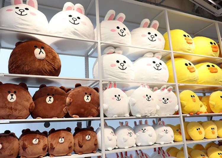 前進LINE FRIENDS原宿旗艦店!迷妹必備的日本限定BT21&熊大兔兔商品都在這!