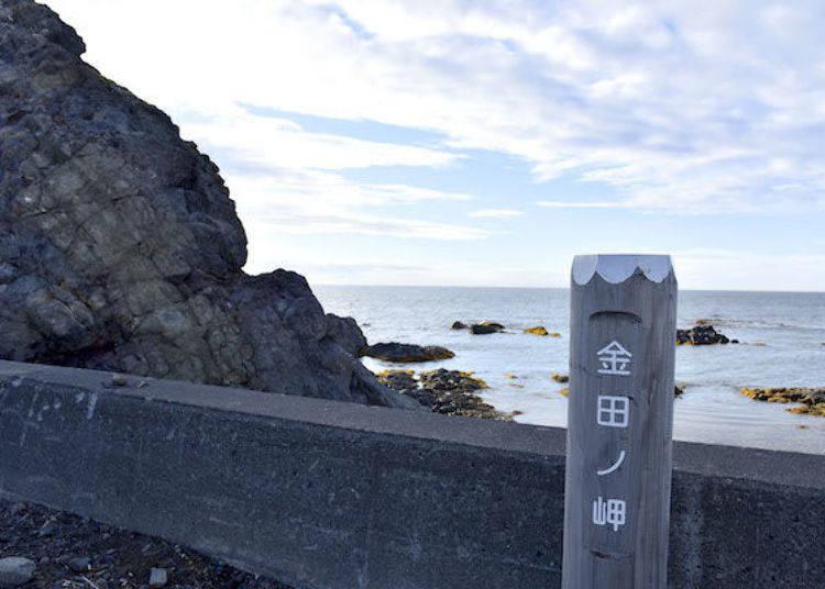 這是「金田之岬」。
