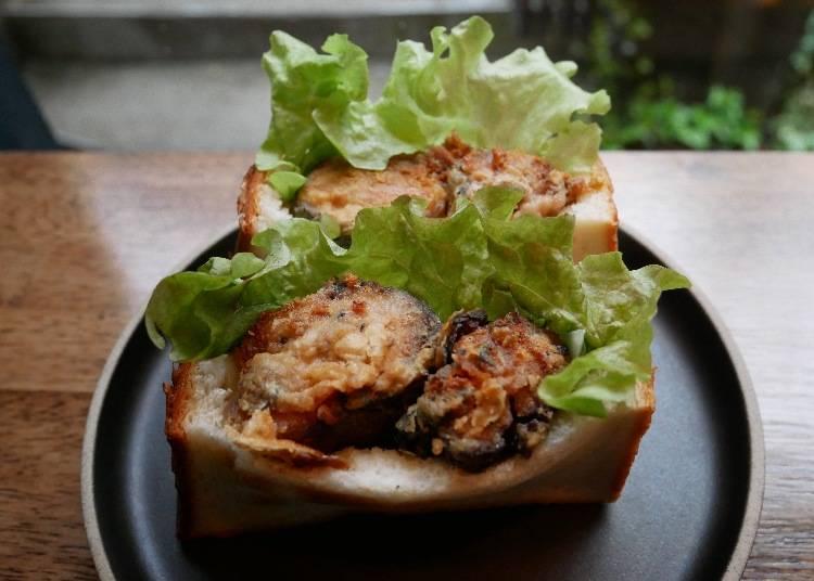 鯖魚三明治(サバサンド)787日圓(未稅)