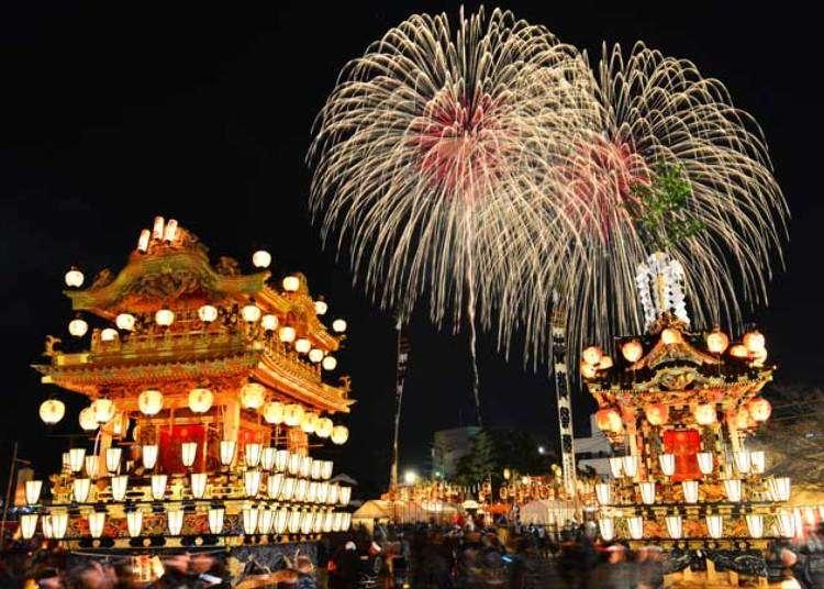 日本三大曳山祭之一!大型景點滿載的「秩父夜祭」基本旅遊指南