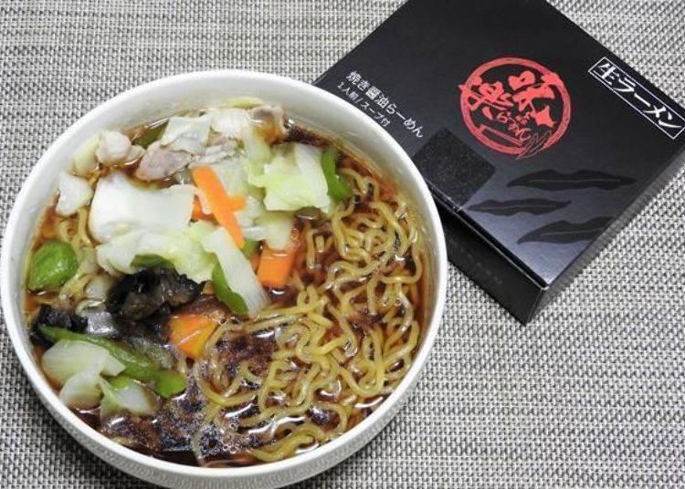 在家重現利尻島的口味!商品沒有附材料,在家可以自由加入各種蔬菜。