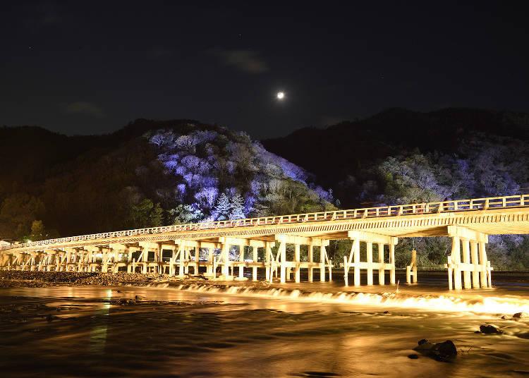 渡月橋點燈