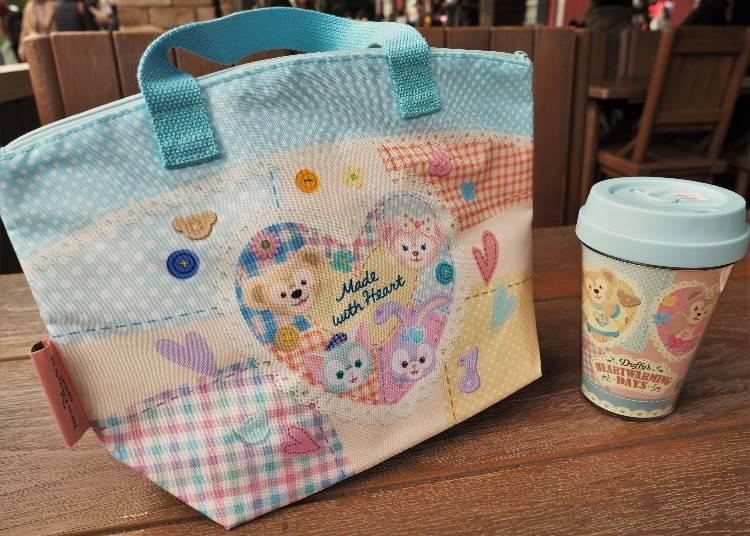 加價1,000日圓可獲手提保冷袋(照片左邊)
