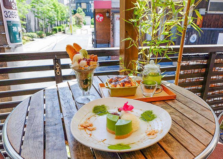 一口真能回甘?在滿溢和風摩登的氛圍中,充份享受日式抹茶的魅力