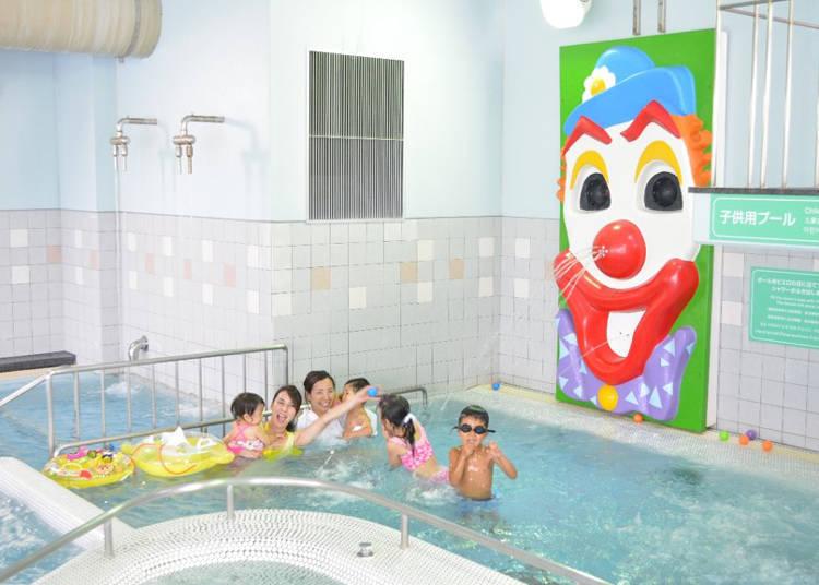 兒童用的泳池