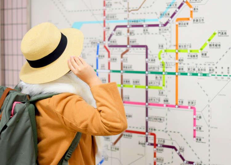 【大阪自由行必看】搭車不必怕!大阪電車路線圖總整理