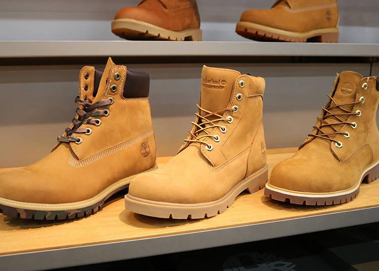 「Timberland」的經典靴鞋款