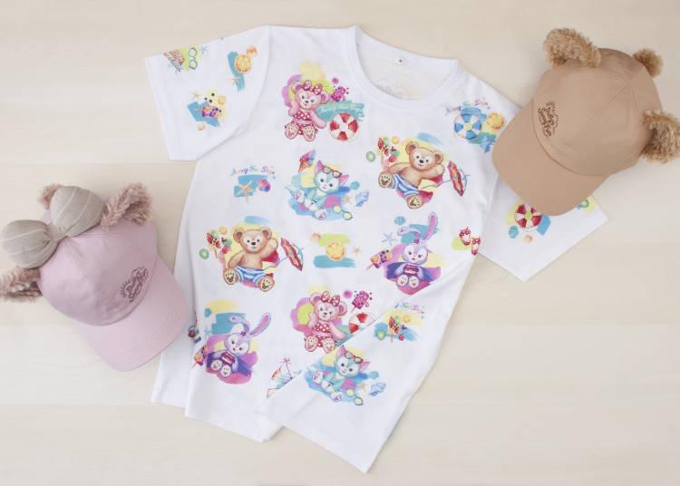 T恤(尺寸:S、M、L、LL):各3200日圓/棒球帽:各3500日圓 ※圖片皆僅供參考 ©Disney
