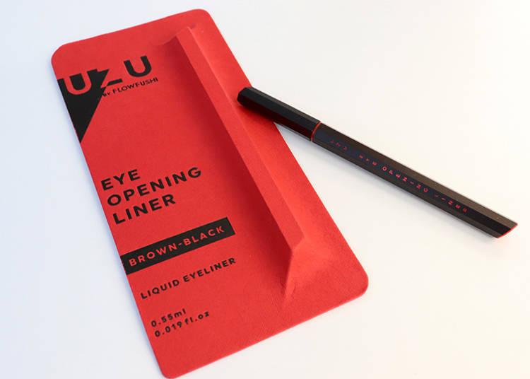 「UZU BY FLOWFUSHI EYE OPENING LINER」各色含稅1650日圓