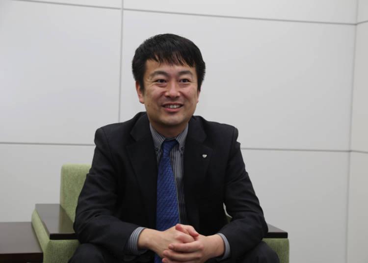 市場行銷總部冰淇淋行銷部 遠藤壽之先生