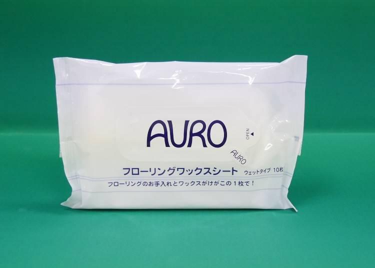 ▲日本製:AURO JAPAN/486日幣(含稅)/10片裝: 擦拭布大小 200mm×300mm