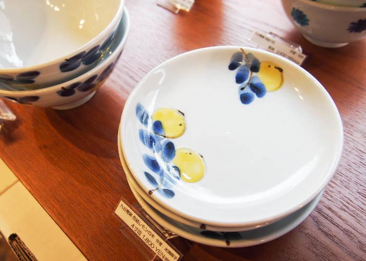 日本品牌九谷青窯,4寸盤1800日圓
