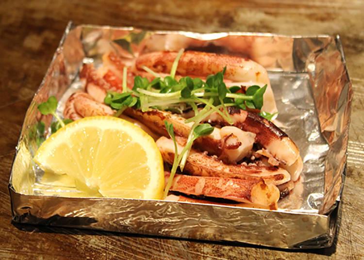 單點料理「鹽烤花枝腳」380日圓(含稅)
