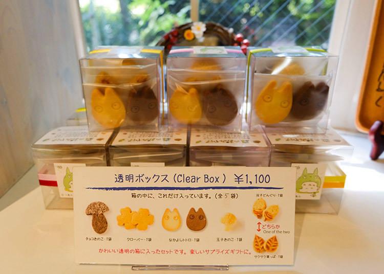 透明包裝5款手工餅乾(8片入) 1100日元(含稅)