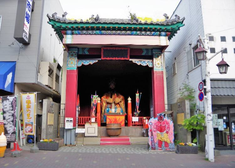 這就是著名的景點之一「閻羅王堂」。